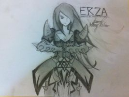 Erza by EvolutionOfTradition