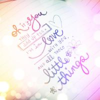 Little things by 1Dzaynharry