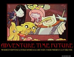 Adventure Time Future Poster by nerdsman567