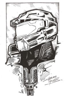 sketchy: Halo by KidNotorious