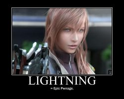 FF XIII - MP- Lightning-Pwnage by ArcCrimsonhart