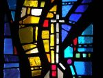 Stained Glass W Cross by superpower-pnut