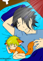 Sasuke Sleeping With Fox Naruto: Complete by Levi-Ackerman-Heicho