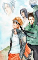 -Naruto Shippuden- Quest by korilin