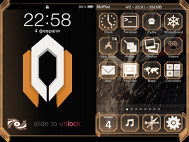 Mass Effect 2 Cerberus iOS 3 by Cuclick