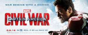 Captain America: Civil War - Theatrical Banner #2 by spacer114
