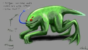 Creature Feature - Froog by putridCheese
