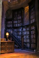 dumbledore's  office . WB sets studio tour . by Sceptre63