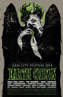 GEM CITY FEST POSTER by BURZUM