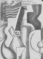 Cubism Drawing by BryanChalas