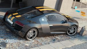 Audi R8 House by nitingarg