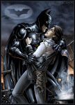 Batman and Scarecrow by Candra