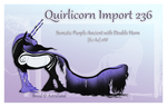 Quirlicorn Custom Import 236 by Astralseed