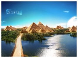 Wallpaper pack - 'Utopia' by AlexanderFriedl