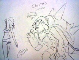 Chester's Surprise by zmorphcom