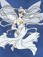 Queen Serenity Stained Glass by Blackmoonrose13