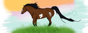 Happy Birthday Stable by shiasgraphics
