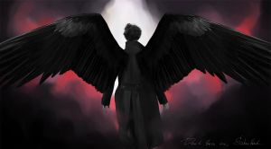 Sherlock - The fallen angel by AllenaOri