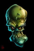 Skully Face Basterd by Frayna77