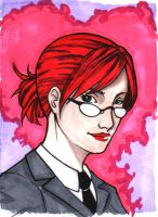 Pepper Potts sample card by magneticrain