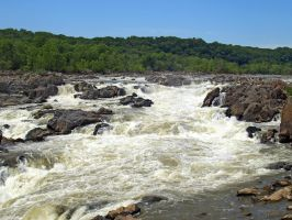 Great Falls of the Potomac 42 by Dracoart-Stock