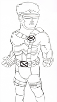 marvel's cyclops by sixteen6stars