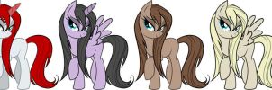 All Damonian , Femenine Adult Characters by Leonnorre