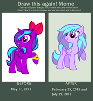 Draw this again: Songbook's debut by Paige-the-unicorn