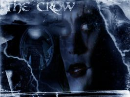 THE CROW by InvisibleRainArt