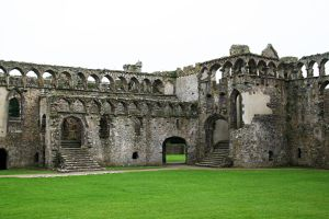Bishops Palace, St Davids, Pembrokeshire 8 by OghamMoon