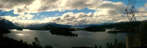 Bariloche at dusk by tgrq