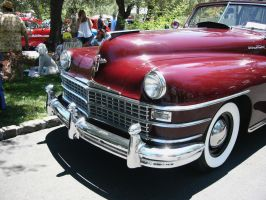 1946 Chrysler Town and Country nose by RoadTripDog