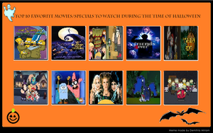 My Top 10 Halloween Speicals and Movies by nikkichic109