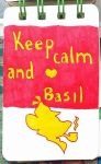 TGMD - Keep calm and love Basil by doraemonbasil