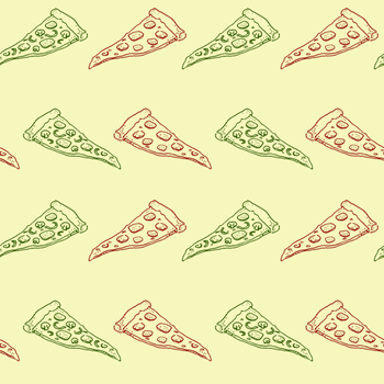 [Stock] Pizza Pattern by dimawari