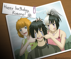 Happy birthday, Kurono by Reina-Kitsune