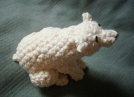 Polar Bear Amigurumi 01 by Meowkernaut