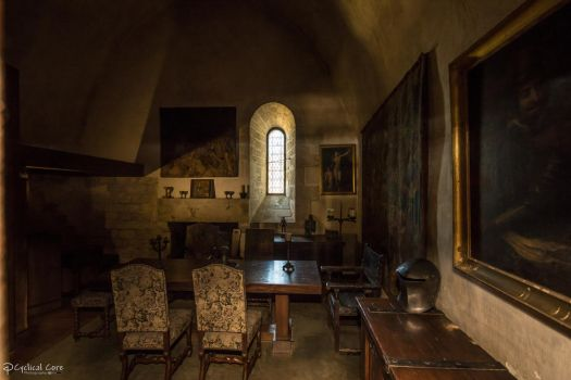 Beynac Castle - Dining Room by CyclicalCore