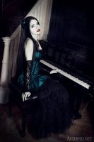Victorian Goth by Mademoiselle--Black