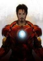 Iron Man by White-corner
