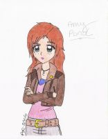 Amy Pond of Doctor Who by AsherDemonSlayer