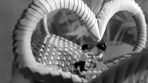 Lego origami love by justrussian