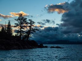 Lake Tahoe Sunset 3 by MartinGollery