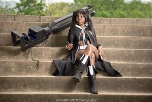Black Rock Shooter Cosplay by rizzle2k7