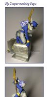 Sly Raccoon: Sly Cooper Figure by Dayu