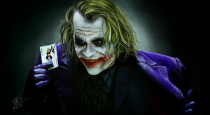 JOKER. Why So Serious? by ChocoWay