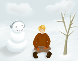 Together in the winter by Akeudi