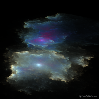 Nebula and colors by luisbc