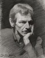 Portrait of a man by Ashland-Academy