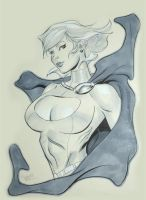 Powergirl NYCC by MichaelDooney
